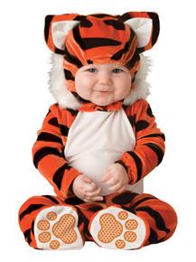 Tiger Tot Infant Romper w/ Hood