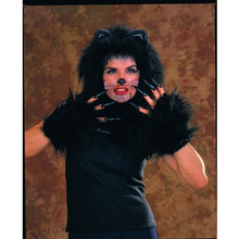 Cat Accessory Kit with Headpiece and Paws Deluxe