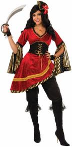Queen of the Seas Dress w/ Corset Belt & Pantiloons
