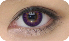 Amethyst Purple Theatrical Novelty Lenses