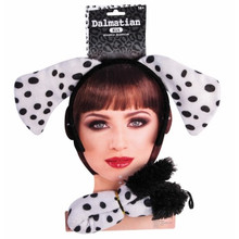 Dalmatian Kit Headband with Ears & Tail Set