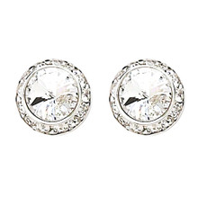 20MM Swarovski Crystal Earrings w/ Surgical Steel Post