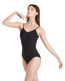 Ladies Camisole Leotard w/ Sheer Inserts