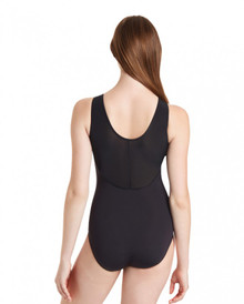 Ladies Sheer Back Tank Leotard
