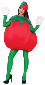 Tomato Costume Adults with open face