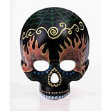 /day-of-the-dead-mask-black-no-jaw-w-satin-ties/