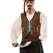 /buccaneer-vest-distressed-brown-with-gold-skulls/