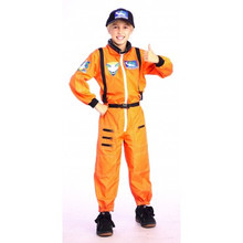 Astronaut Jumpsuit Child Orange