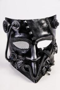 /steampunk-jester-mask-silver-mardi-gras/