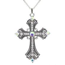 /aurora-rhinestone-cross-necklace/