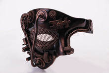 Steampunk 1 Eye Mask Frontal Mardi Gras