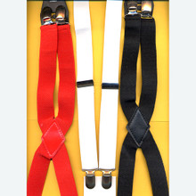 Solid Color Suspenders