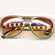 Elvis Style Oversized Dark Lense Glasses (GL86557)