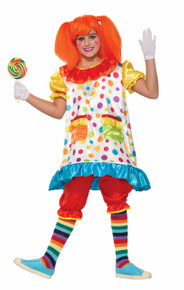 Wiggles the Clown Girls Costume
