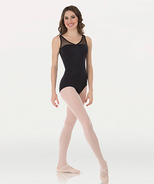 Ladies Power Mesh Yokes Leotard