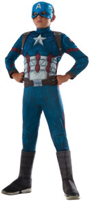 Avengers Kids Deluxe Muscle Chest Captain America Civil War Marvel Costume (620591)