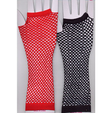 Arm Length Fishnet Gloves Assorted Colors (MGLOVEL)
