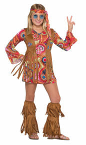 Peace Lovin' Hippie Kids Costume