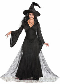 Black Mist Witch Costume Adults Witches & Wizards Series