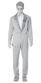 Ghostly Groom Adult Costume