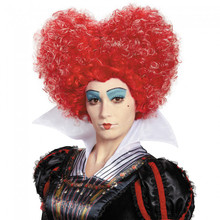 Alice in Wonderland Red Queen Deluxe Adult Wig