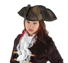 /scallywag-black-copper-pirate-tricorn-hat/