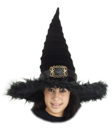 /deluxe-black-ridged-witches-hat/