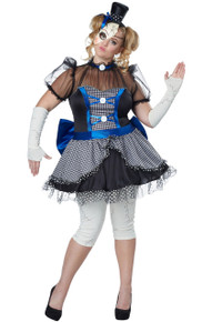 Adult Plus Size Twisted Baby Doll