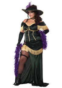 Adult Plus Size Saloon Madame (01713CCC)
