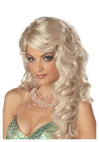 Blonde Wavy Mermaid Wig