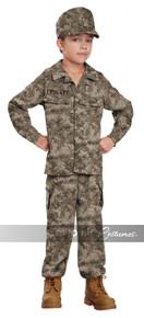 """Soldier Kid's Costume Camo """"Private"""""""