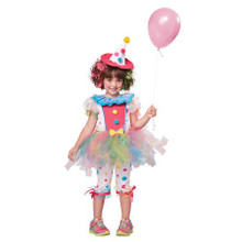 Child Rainbow Clown