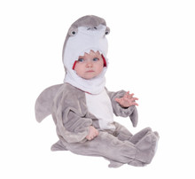 Shark Costume Kids Open Face