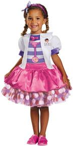 Doc McStuffins Disney Jr Deluxe Girl's Veterinarian Costume