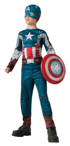 Kids Captain America Retro Winter Soldier Licensed Marvel