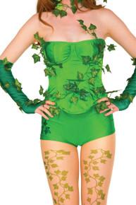 Poison Ivy Deluxe Corset