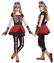 Bone-ita Beauty Teen Day of the Dead (10388)