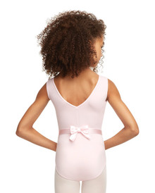 Princess Perfect Leotard with Attatched Bow Belt