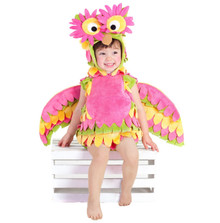 Holly the Owl Colorful Plush Toddler Costume