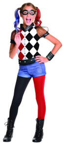 Suicide Squad Licensed Harley Quinn Girl's Costume