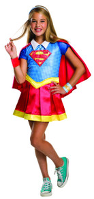 Supergirl Girl's Deluxe Licensed Superman