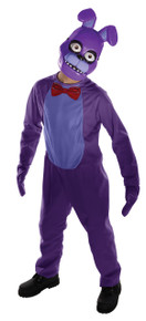 Bonnie Teen Licensed Five Nights at Freddy's Costume (630104)