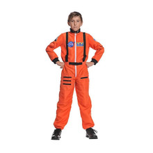 Astronaut Kids Orange Jumpsuit w/ NASA Patches