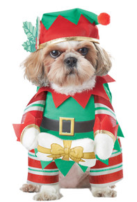 Elf Pup Dog Costume (PET20132)