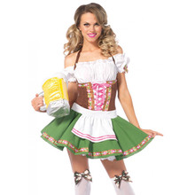 Gretchen German Beer Girl Dress & Stockings