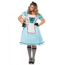 Tea Time Alice Full Figure Dress
