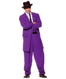 Mens Zoot Suit - Purple Plus Size