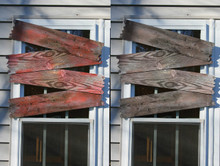 (4) Haunted Window Boards