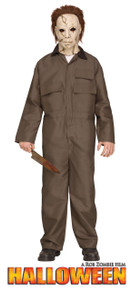 Michael Myers Deluxe Teen Costume - Rob Zombie's HALLOWEEN (100943)