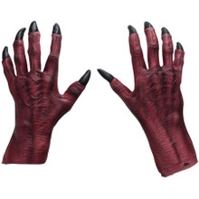 /monster-claws-red-hand-covers-with-black-finger-nails/